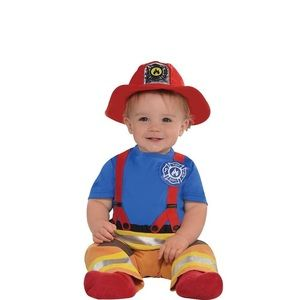 12- 24 month Fireman Halloween Costume